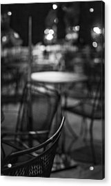 Closed Dining Acrylic Print by Michael Williams
