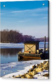Closed For The Season Acrylic Print by Christi Kraft