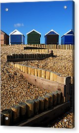 Acrylic Print featuring the photograph Closed For The Winter by Wendy Wilton