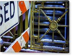 Closed Walkway Acrylic Print by Raymond Kunst