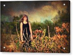 Closer Acrylic Print by Taylan Apukovska