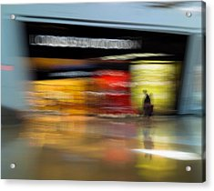 Acrylic Print featuring the photograph Closing In by Alex Lapidus