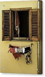 Clothes Dryer Acrylic Print