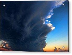 Cloud 20130330-60 Acrylic Print by Carolyn Fletcher