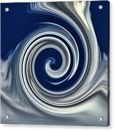 Cloud Abstract Acrylic Print by Ron Roberts