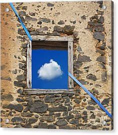 Cloud Acrylic Print by Bernard Jaubert