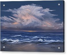 Cloud Burst Acrylic Print by Sena Wilson