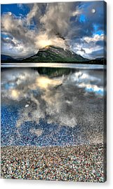 Acrylic Print featuring the photograph Cloud Catcher by David Andersen