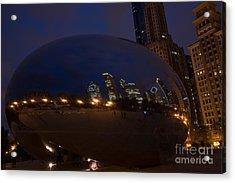Cloud Chicago Acrylic Print