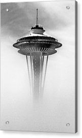 Cloud City 1962 Acrylic Print by Benjamin Yeager
