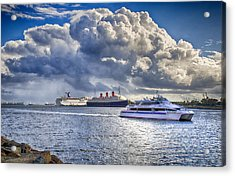 Cloud Crowns The Queen Acrylic Print by Joseph Hollingsworth