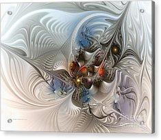 Cloud Cuckoo Land-fractal Art Acrylic Print