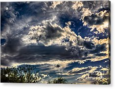 Acrylic Print featuring the photograph Cloud Drama by Mark Myhaver