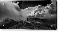 Cloud Factory Bw Acrylic Print