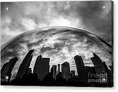 Cloud Gate Chicago Bean Acrylic Print by Paul Velgos