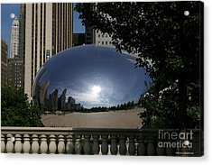 Cloud Gate Acrylic Print by Tannis  Baldwin