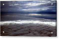 Cloud Layers 1 Acrylic Print by Maxwell Amaro