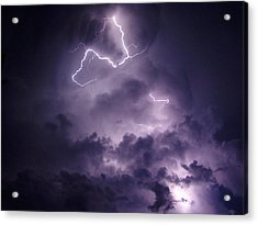 Cloud Lightning Acrylic Print