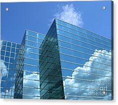 Acrylic Print featuring the photograph Cloud Mirror by Ann Horn