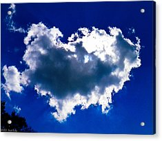 Cloud Acrylic Print