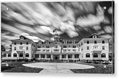 Cloud Painting At The Stanley Hotel Acrylic Print