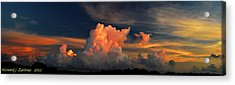 Acrylic Print featuring the photograph Cloud Panorama by Richard Zentner