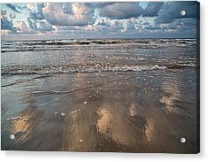 Acrylic Print featuring the photograph Cloud Reflections by Sharon Jones