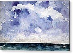 Cloud Regatta Acrylic Print