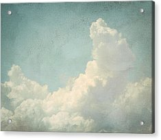 Cloud Series 4 Of 6 Acrylic Print by Brett Pfister