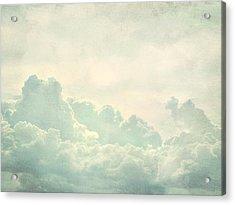 Cloud Series 5 Of 6 Acrylic Print by Brett Pfister