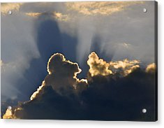 Acrylic Print featuring the photograph Cloud Shadows by Charlotte Schafer