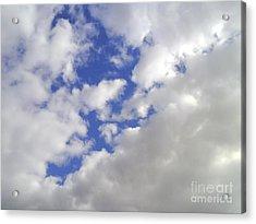 Cloud-shapes-2 Acrylic Print by Katerina Kostaki