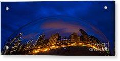 Cloud Skyline Acrylic Print