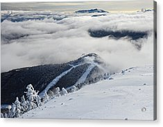 Cloud Splitter Acrylic Print by Bernard Chen