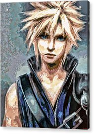 Cloud Strife Acrylic Print
