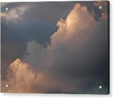 Acrylic Print featuring the photograph Cloud Study 2 by Laurie Stewart