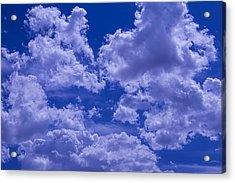 Cloud Watching Acrylic Print by Garry Gay