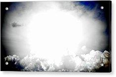 Cloudburst Sky Celestial Cloud Art Xl Resolution Acrylic Print