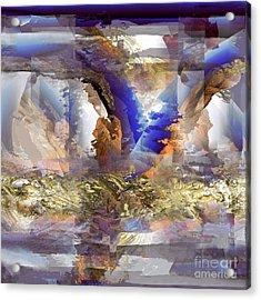Cloudburst Acrylic Print by Ursula Freer