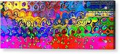 Cloudburst Acrylic Print by Wendy J St Christopher