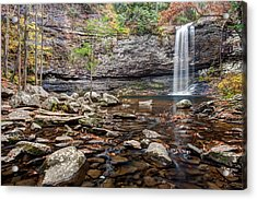 Cloudland Canyon Falls Acrylic Print by Scott Moore