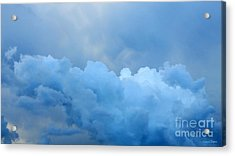 Clouds 2 Acrylic Print by Leanne Seymour