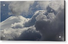 Clouds After The Storm Acrylic Print by Ron Romanosky