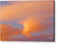 Clouds At Sunrise Acrylic Print by Dan Sherwood