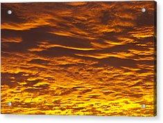 Clouds At Sunrise Acrylic Print