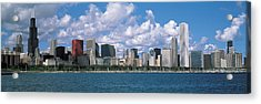 Clouds, Chicago, Illinois, Usa Acrylic Print by Panoramic Images