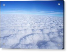 Acrylic Print featuring the photograph Clouds II by Kristine Bogdanovich