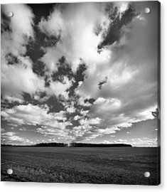 Clouds In The Heartland Acrylic Print by Dick Wood
