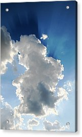 Clouds In The Sun Acrylic Print