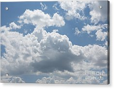 Clouds Acrylic Print by Kay Pickens